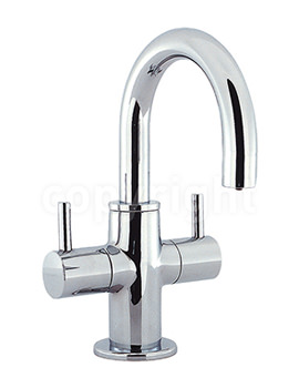 Related Crosswater Mike Lever Mini Monobloc Basin Mixer Tap - ML114DNC