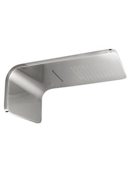Noken Lounge Wall Mounted Rain And Cascade Shower Head