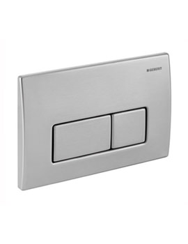 Kappa50 Stainless Steel Dual Flush Plate - 115.258.00.1