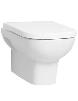 VitrA Retro Wall Hung WC Pan With Toilet Seat - 5160B003-0075