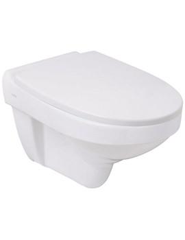 Sola Rimless Wall Hung WC Pan 530mm - SA1738WH