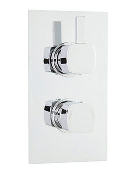 Related Balterley Cube Thermostatic Shower Valve With Diverter - MUSV52
