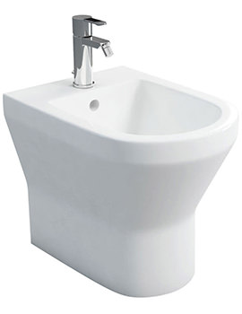 Britton Curve S30 Back To Wall Bidet
