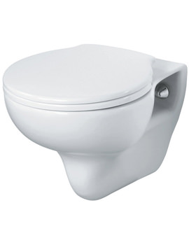 Space Wall Hung WC Pan With Horizontal Outlet