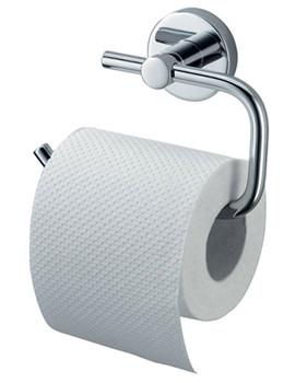 Haceka Kosmos Chrome Toilet Roll Holder - 1121427