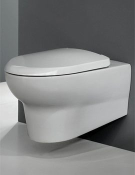 Infinity Wall Hung WC Pan With Soft Close Seat 560mm