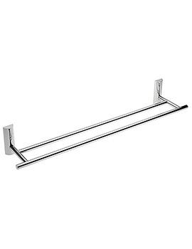 Twiggy 60cm Double Towel Rail - 66375