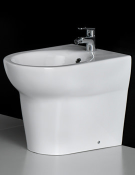 Infinity 1 Tap Hole Back To Wall Bidet 585mm - INFBTWBID