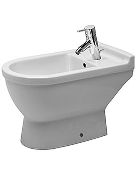 Starck 3 Floor Standing Bidet with Overflow 655mm - 223410