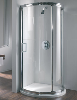 Hydr8 Bow Quadrant Shower Enclosure 780mm - H83930CP