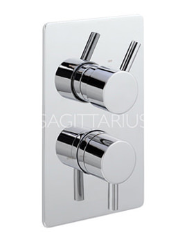 Related Sagittarius Piazza Concealed Thermostatic Shower Valve With 2 Way Diverter