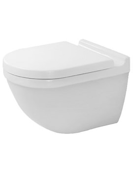 Starck 3 Wall Mounted Toilet With Durafix - 2225090000