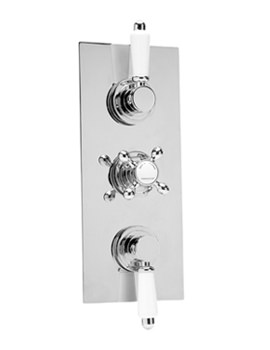Thermosure DTV3 Traditional Triple Control Vertical Shower Valve