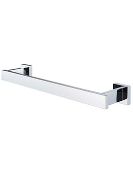 Haceka Edge 328mm Towel Rail Chrome - 1144826