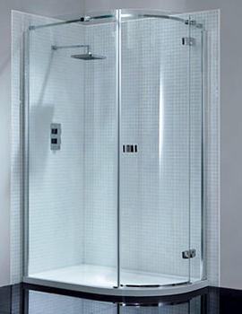 April Prestige2 Frame-less Offset Shower Quadrant 1200x900mm - AP8926R