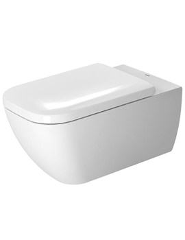 Happy D2 Wall Mounted Rimless Toilet 365 x 620mm - 2550090000