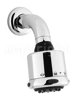 Crosswater Luxury 3 Mode Shower Head With Arm - FH611C