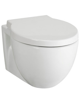 Unity Wall Hung WC Pan With Cistern And Soft Close Seat