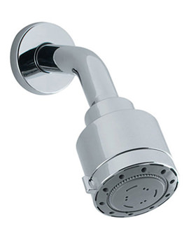 Reflex High Pressure 4 Mode Shower Head With Arm