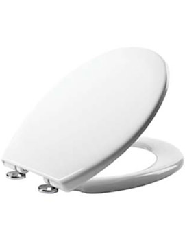 Neutron Thermoset Plastic Quick Release Toilet Seat White - 8901WSC