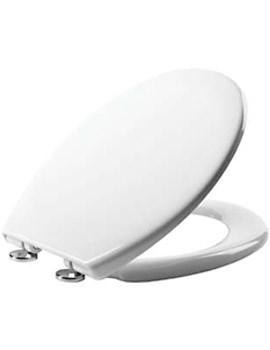 Neutron Thermoset Plastic Quick Release Toilet Seat White - 8901WSC
