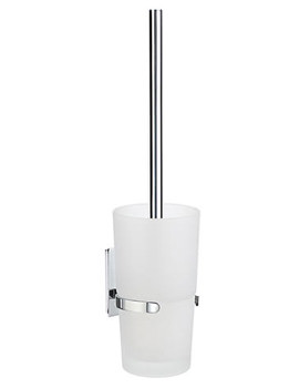 Related Smedbo Pool Toilet Brush With Frosted Glass Container - ZK333