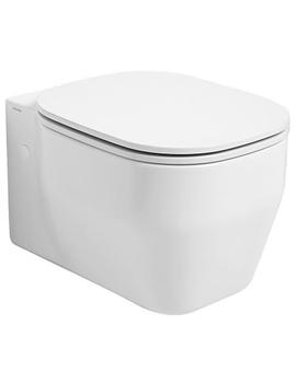 Glaze Wall Hung WC Pan 360 x 520mm Gloss White