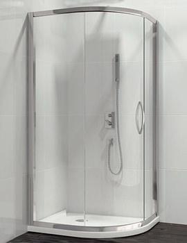 Related Beo Classic Single Door Offset Quadrant Shower Enclosure 1200 x 900mm