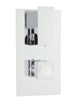 Hudson Reed Art Twin Thermostatic Shower Valve With Diverter - ART3207