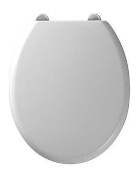 Curve Soft Close Toilet Seat White