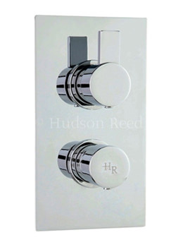 Related Hudson Reed Rapid Twin Thermostatic Shower Valve With Diverter - RAP3207