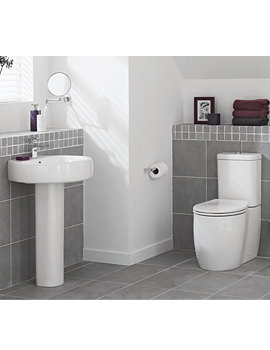 Eternity Round Cloakroom Suite