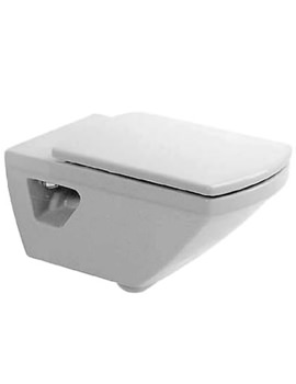 Duravit Caro Wall Mounted Toilet With Seat And Cover - 0198090000