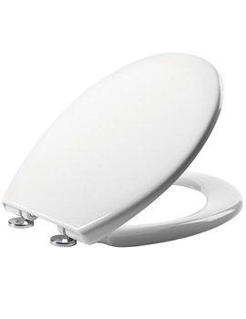 Alpine Soft Close Thermoset Toilet Seat White - O803SC
