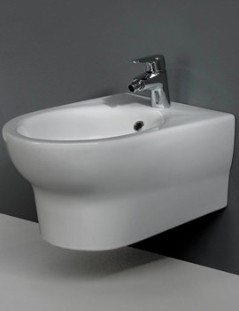 Infinity 1 Tap Hole Wall Hung Bidet 580mm - INFWHBID