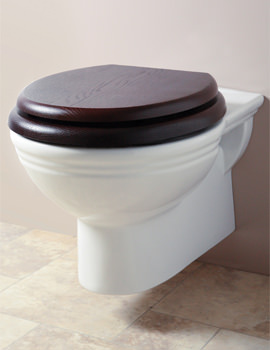 Belgravia White Wall Mounted WC Pan - BEPANWM6WHI