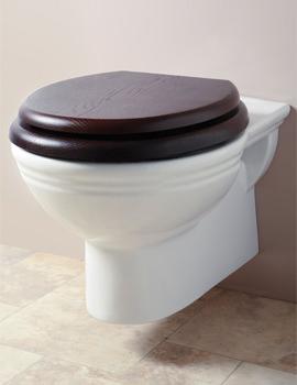 Belgravia White Wall Mounted WC Pan - BEPANWM6WHI