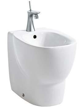 Mimo 1 Tap Hole Floorstanding Back To Wall Bidet 500mm