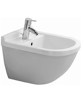 Starck 3 Wall Mounted Bidet with Overflow - 228015