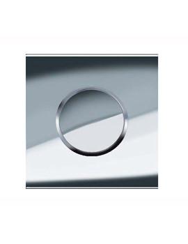 Geberit Sigma10 HyTouch Pneumatic Urinal Flushing Control Chrome 116.015.KH.1