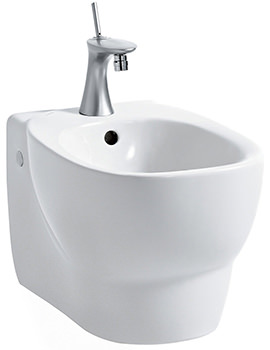 Mimo 1 Tap Hole Wall Hung Bidet 500mm