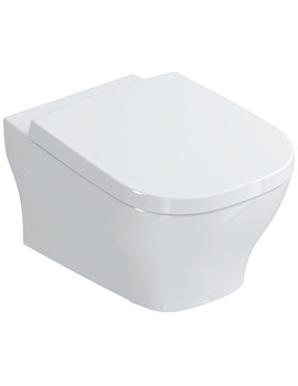 SoftMood Wall Hung WC Pan With Seat And Cover 540mm