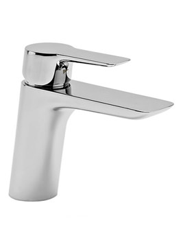 Vigour Chrome Basin Mixer Tap With Click Waste