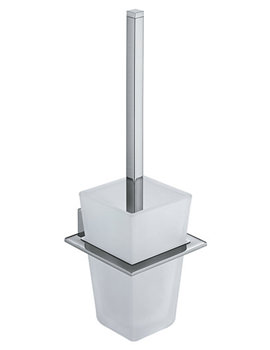 Square Wall Mounted Toilet Brush And Holder - SQU-188