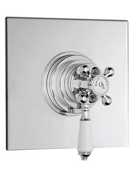 Related Old London Chrome Dual Concealed Thermostatic Shower Valve - LDNV13