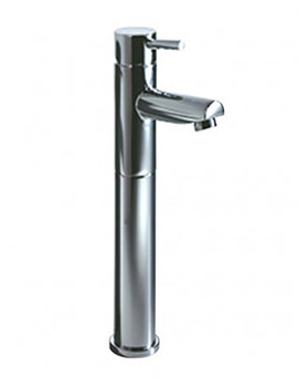 Storm Tall Basin Mixer Tap With Click Waste - T225002