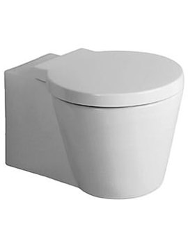 Starck 1 Wall Mounted Toilet With Seat And Cover - 0210090064