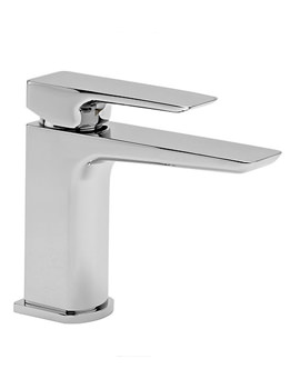 Elate Chrome Basin Mixer Tap With Click Waste