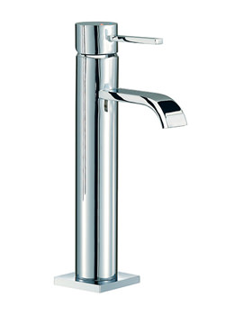 Wave Freestanding Basin Mixer Tap 356mm High - RDL039
