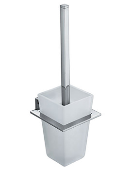 Related Vado Level Wall Mounted Toilet Brush And Holder - LEV-188